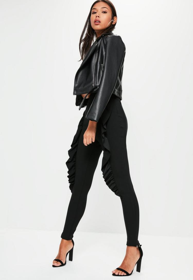 black-skinny-fit-frill-cigarette-trousers