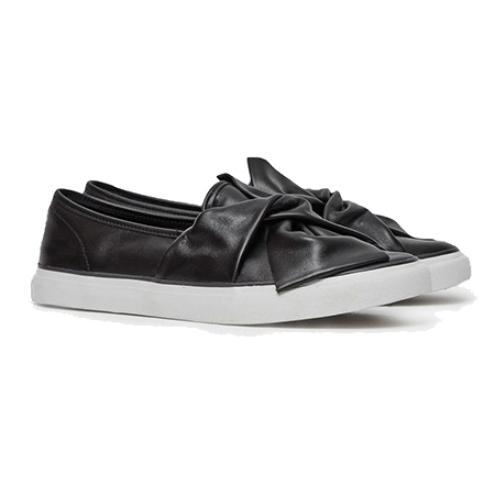 french-connection-slip-on-bow-shoes